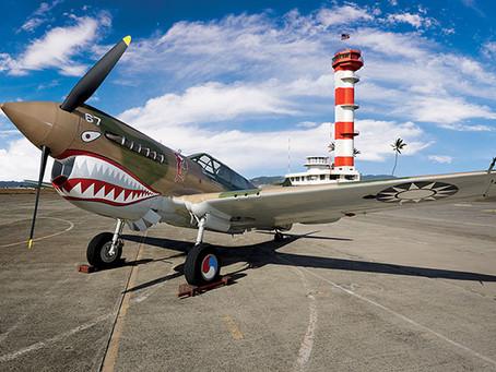 Museo de aviación del Pearl Harbor