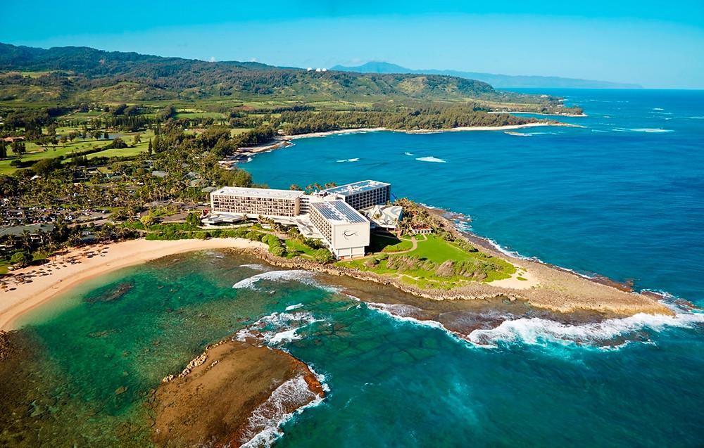la costa norte en Turtle Bay Resort