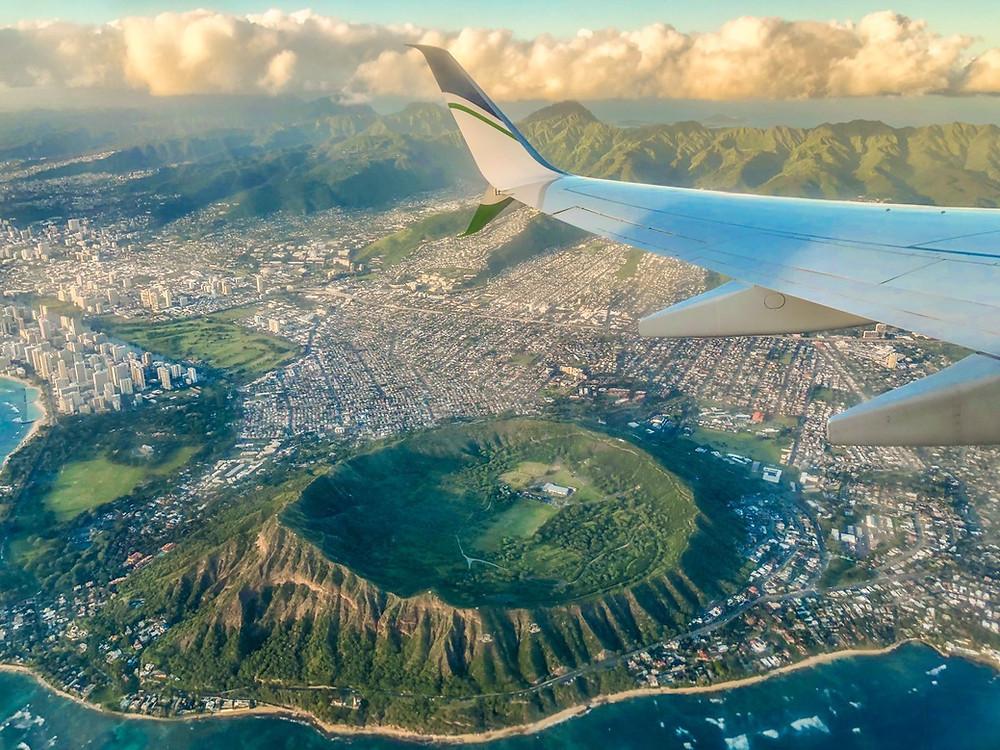 VUELO A HAWAII