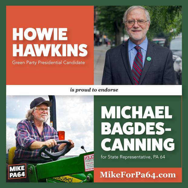 Howie Hawkins Endoresment