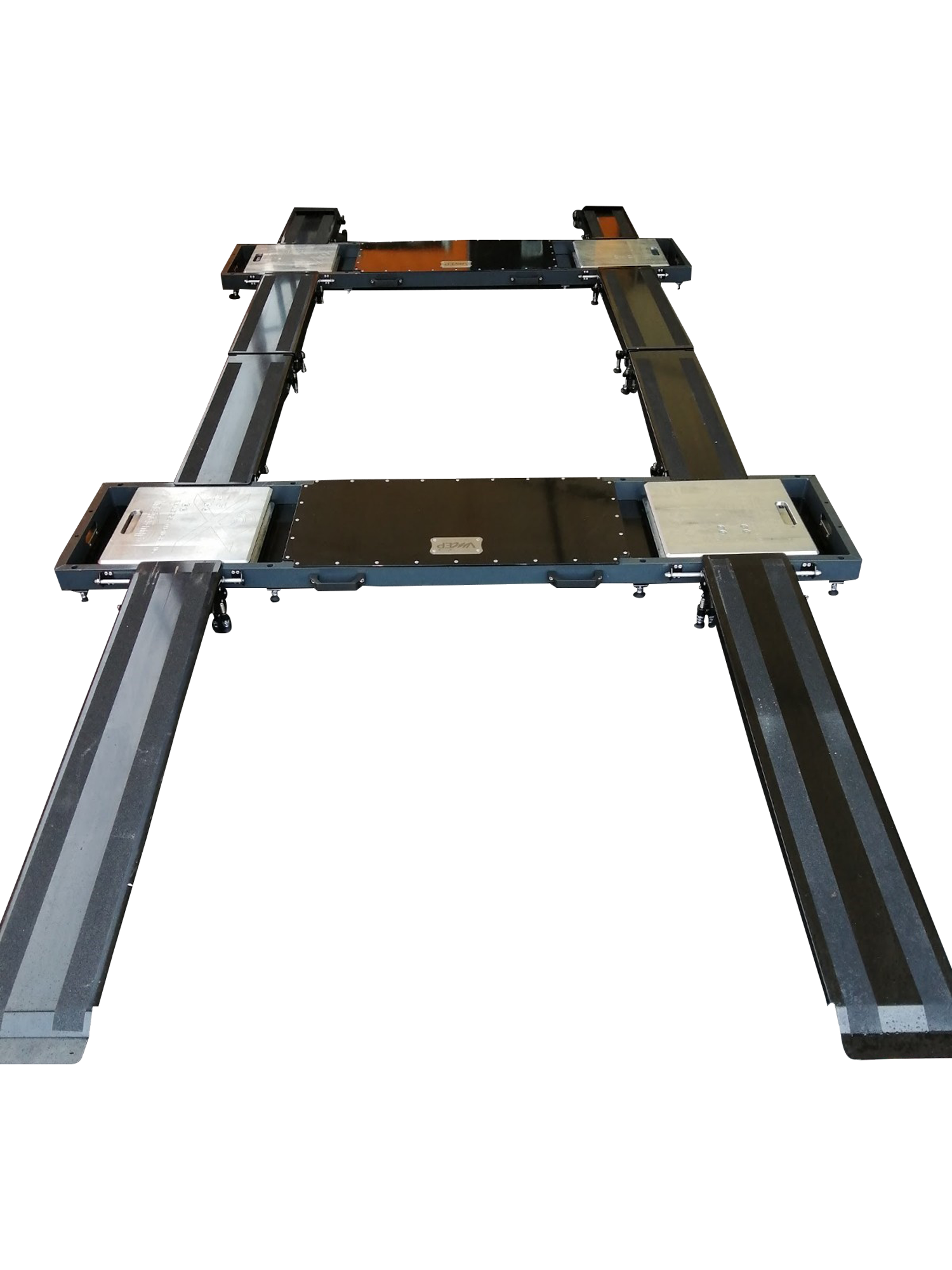 Intercomp set up rack