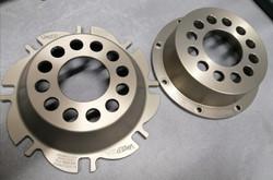 Bespoke brake disc mounting bells