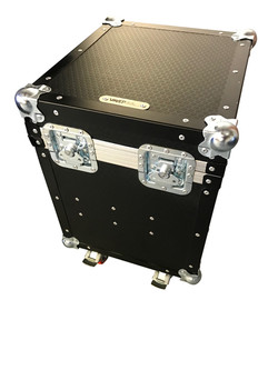 Corner weight scale flight case