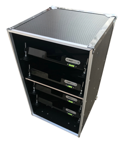 Corner weight pad leveller case