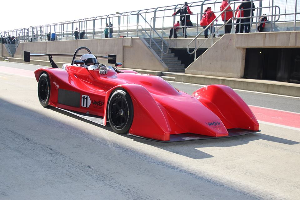 Clubmans race car
