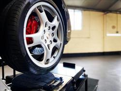 Porsche turn plates