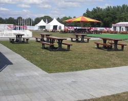 Outdoor event flooring