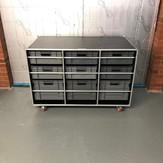 Motorsport storage roll cabinet