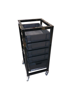 Euro box stacking trolley