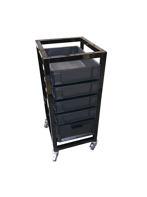 Removable Storage Box Trolley