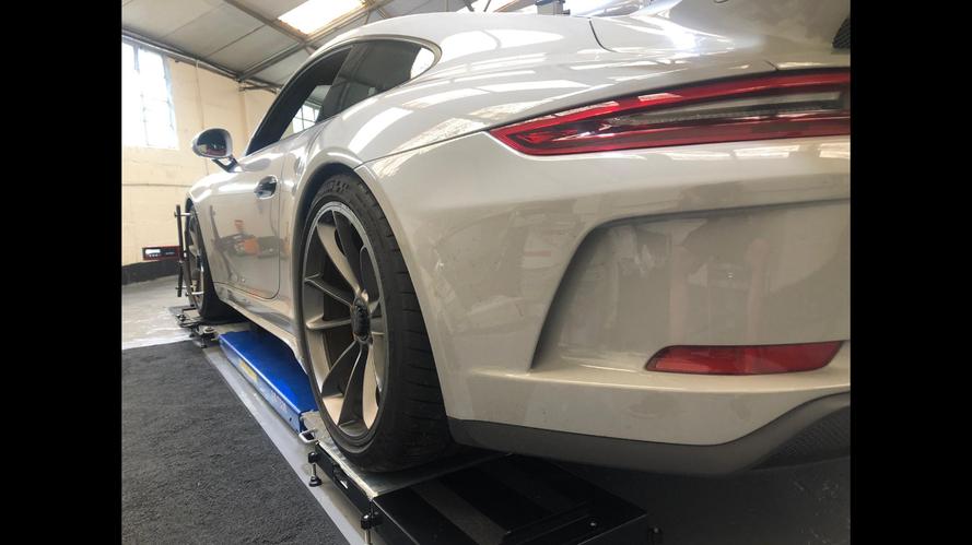 Porsche Corner Weight Set Up