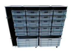 Garage storage flight case