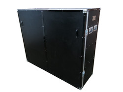 Extra large custom made flight cases for trucks