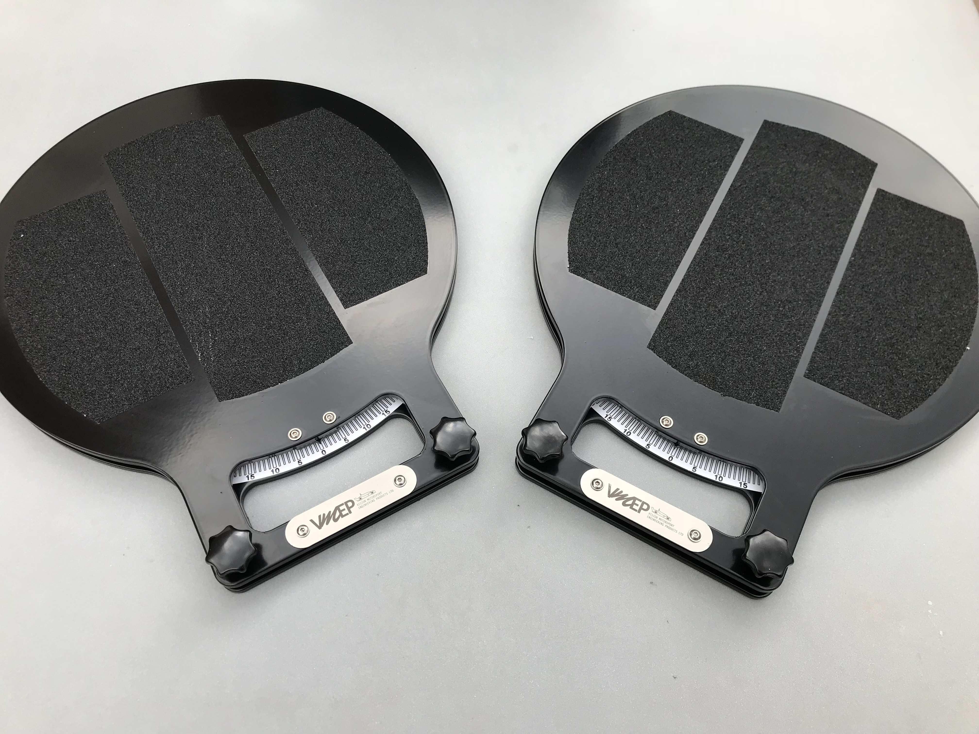Race car turn plates