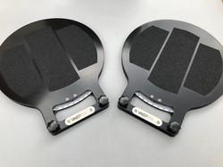 Race car turn plates