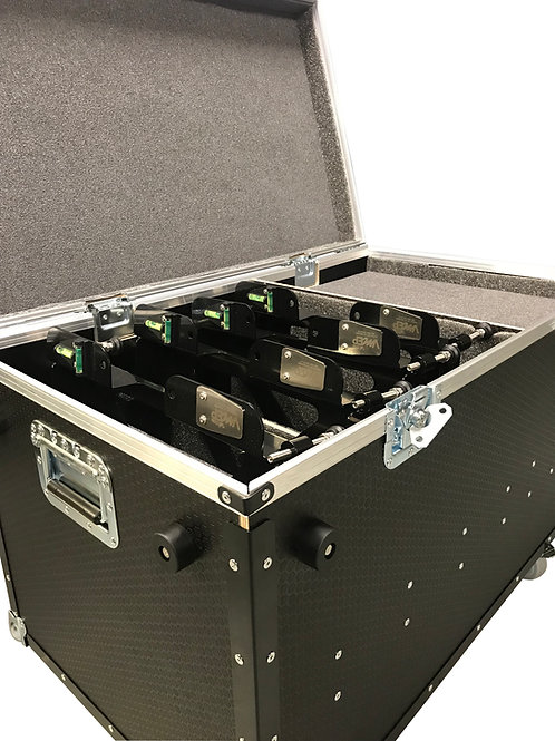 "Pad Levellers- 15X15X2.5"" Scales Including Flight Case"