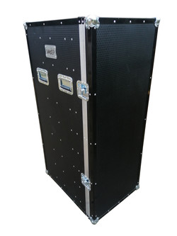 Flight case computer storage