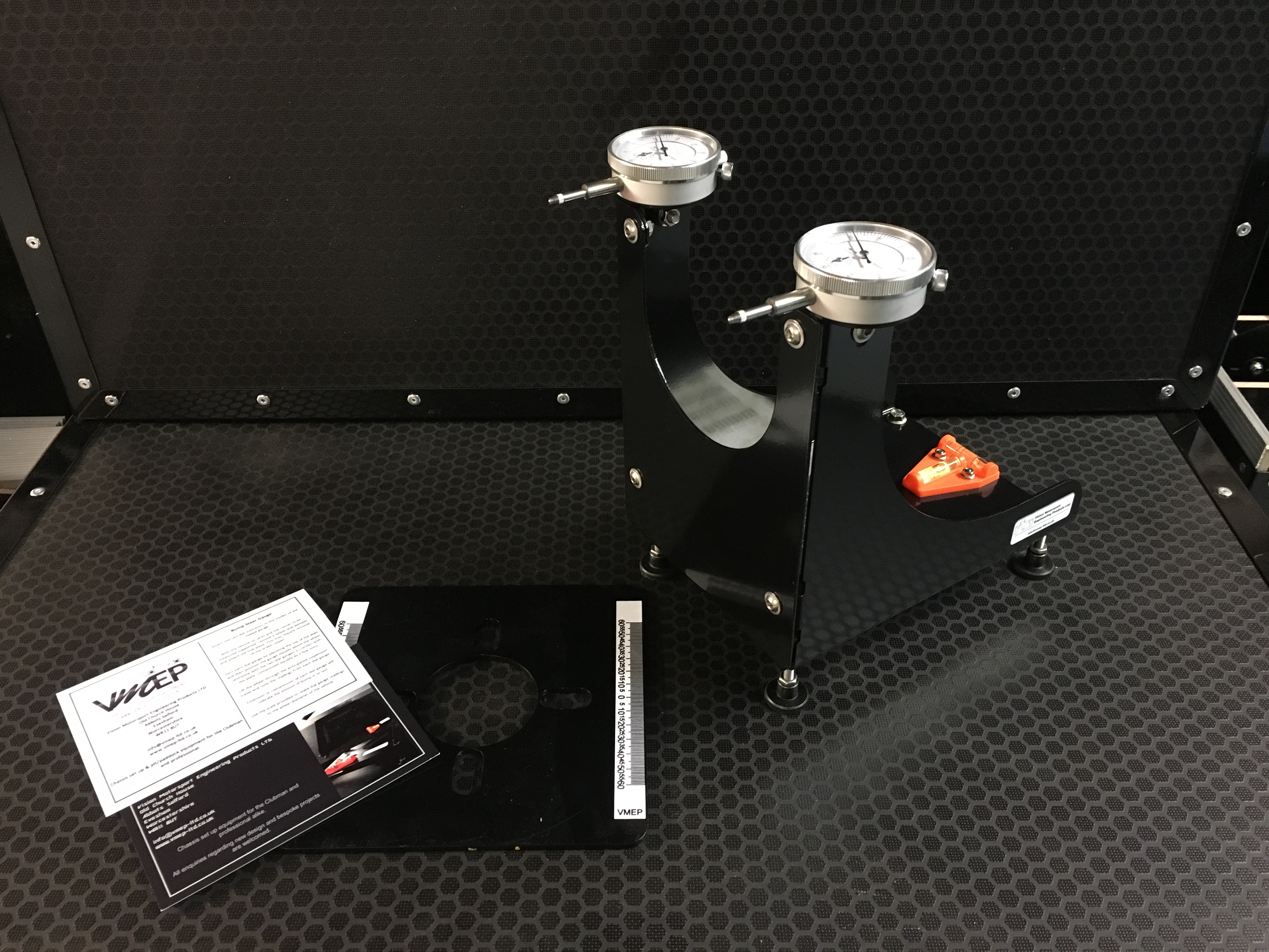 Motorsport bump steer gauge