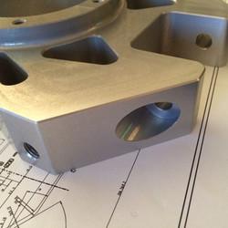 Billet Upright Aluminium Machining