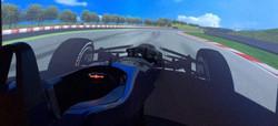 Race car simulator hire