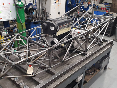 Chassis Work Complete