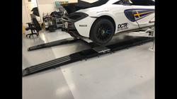 Mclaren GT4 set up floor