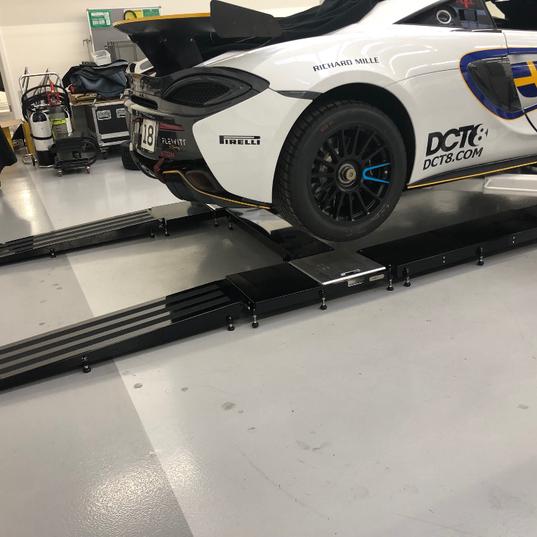 Mclaren race car set up 570s