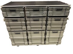 Large motorsport flight case