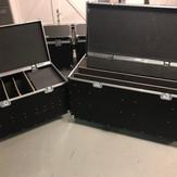 Set up floor flight case