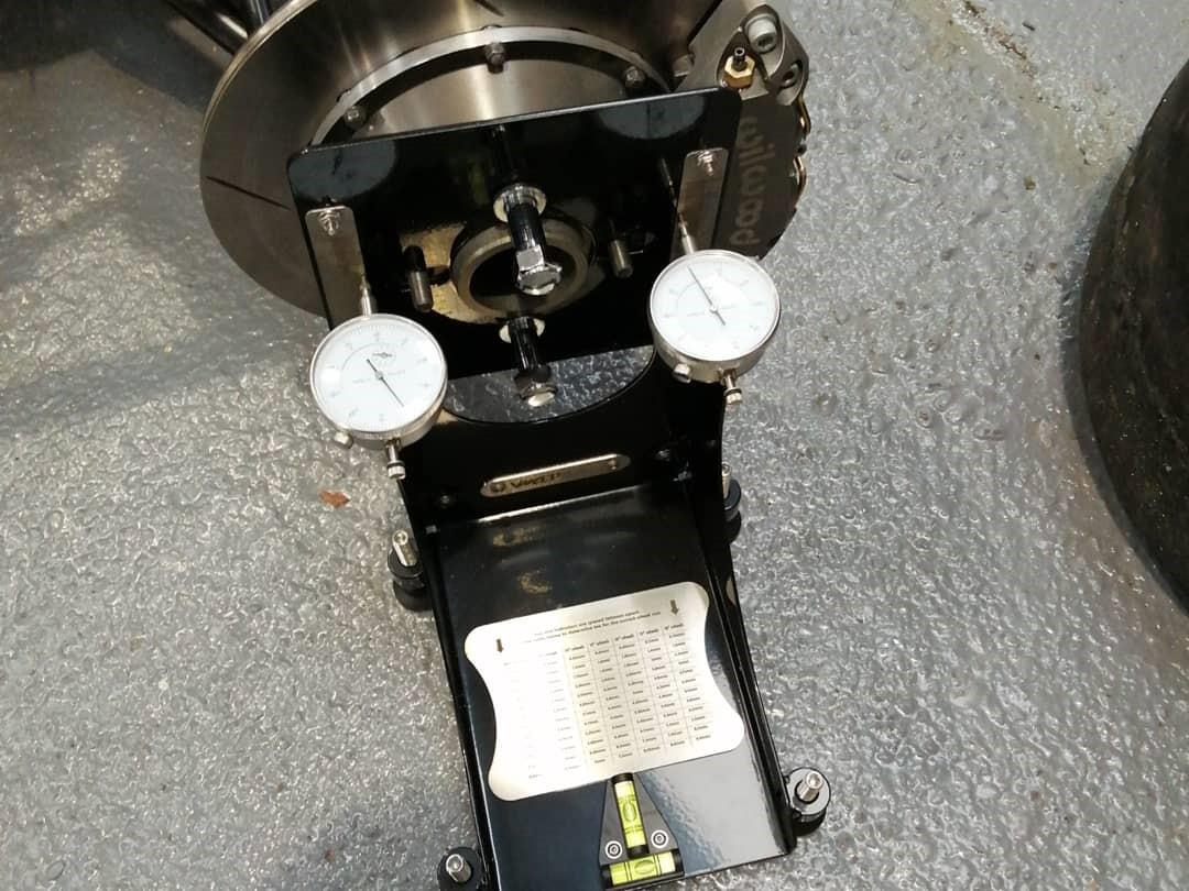 Bump steer gauge