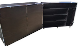 Large flight case storage container
