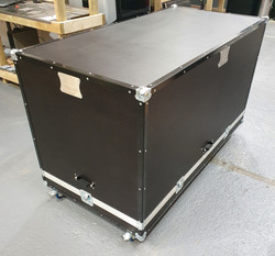 Engine and gearbox transport flight case