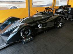 Race car flat patch