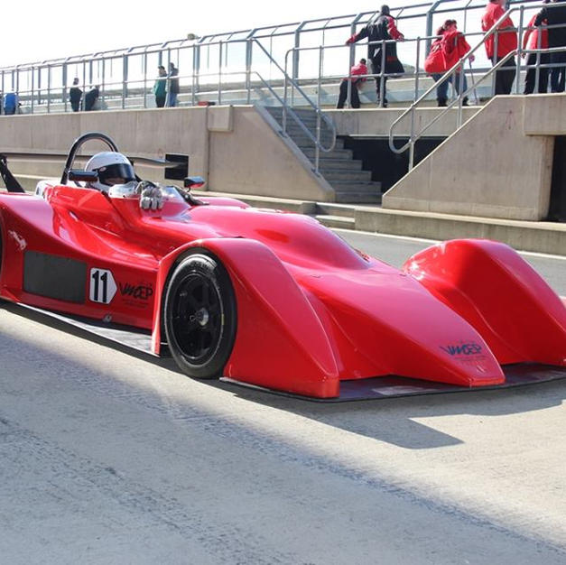 sports prototype race car