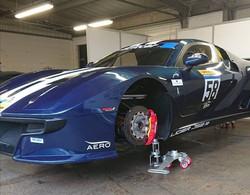Ligier JS2R air jack system