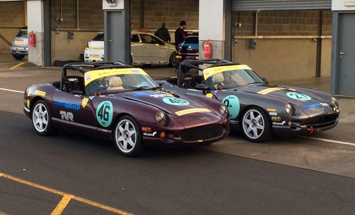 Donington TVR DG Sportscars