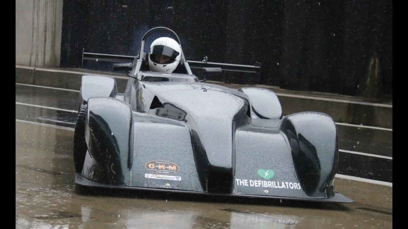 Vision race car