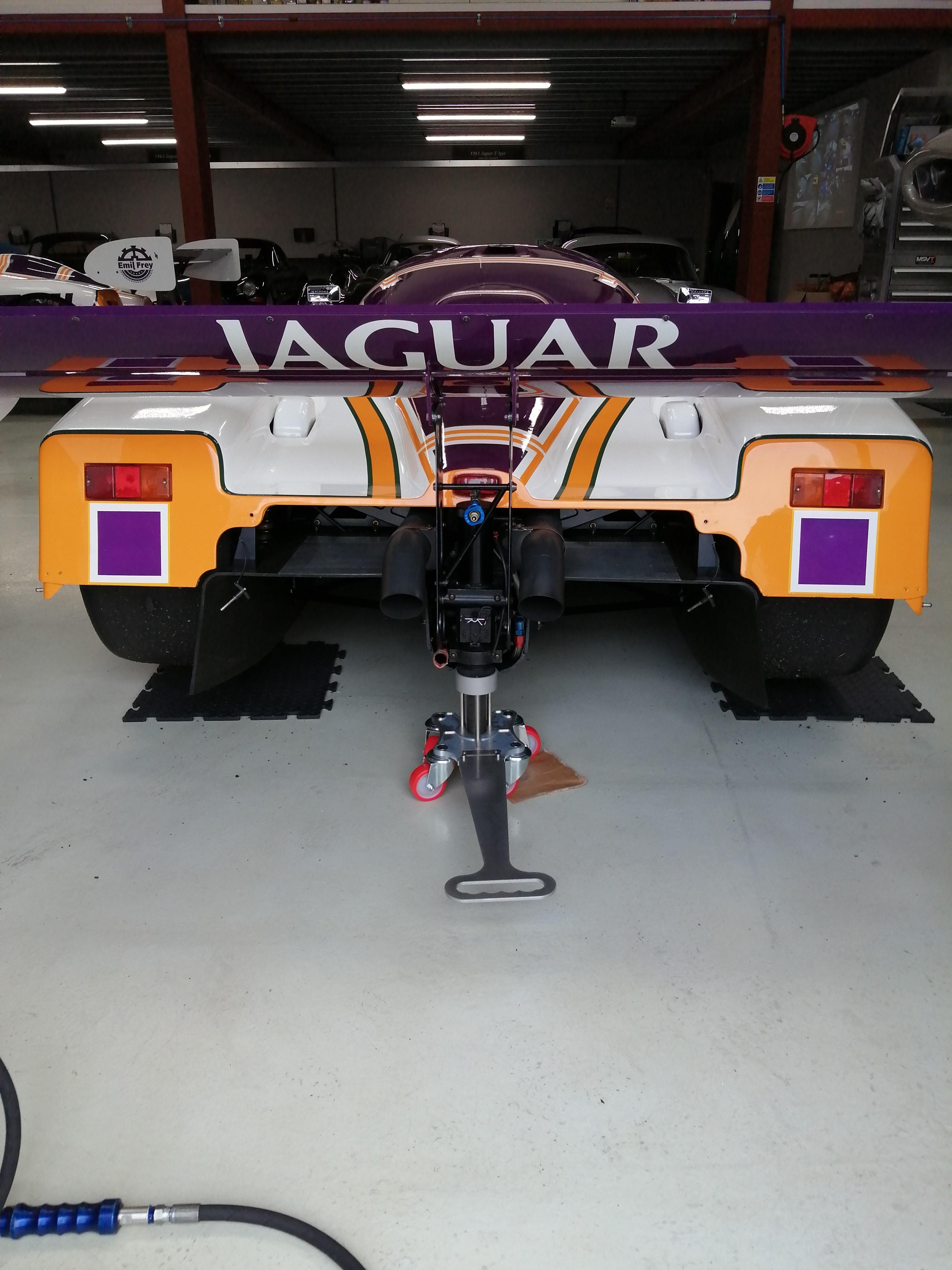 Silk cut jaguar air jack skates