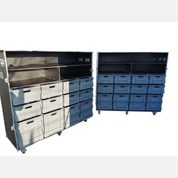 Large euro bin flight case