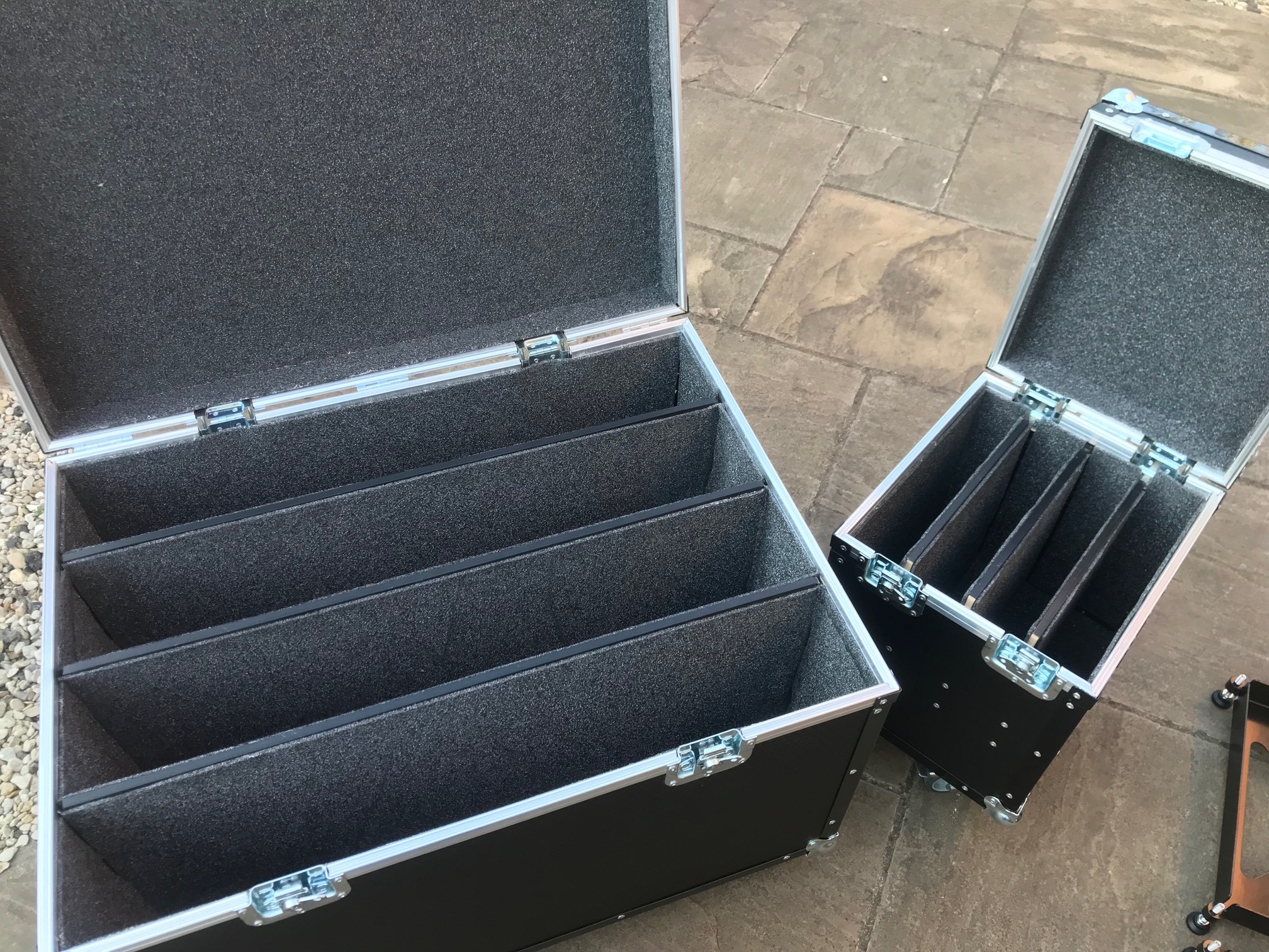 Custom built flight cases