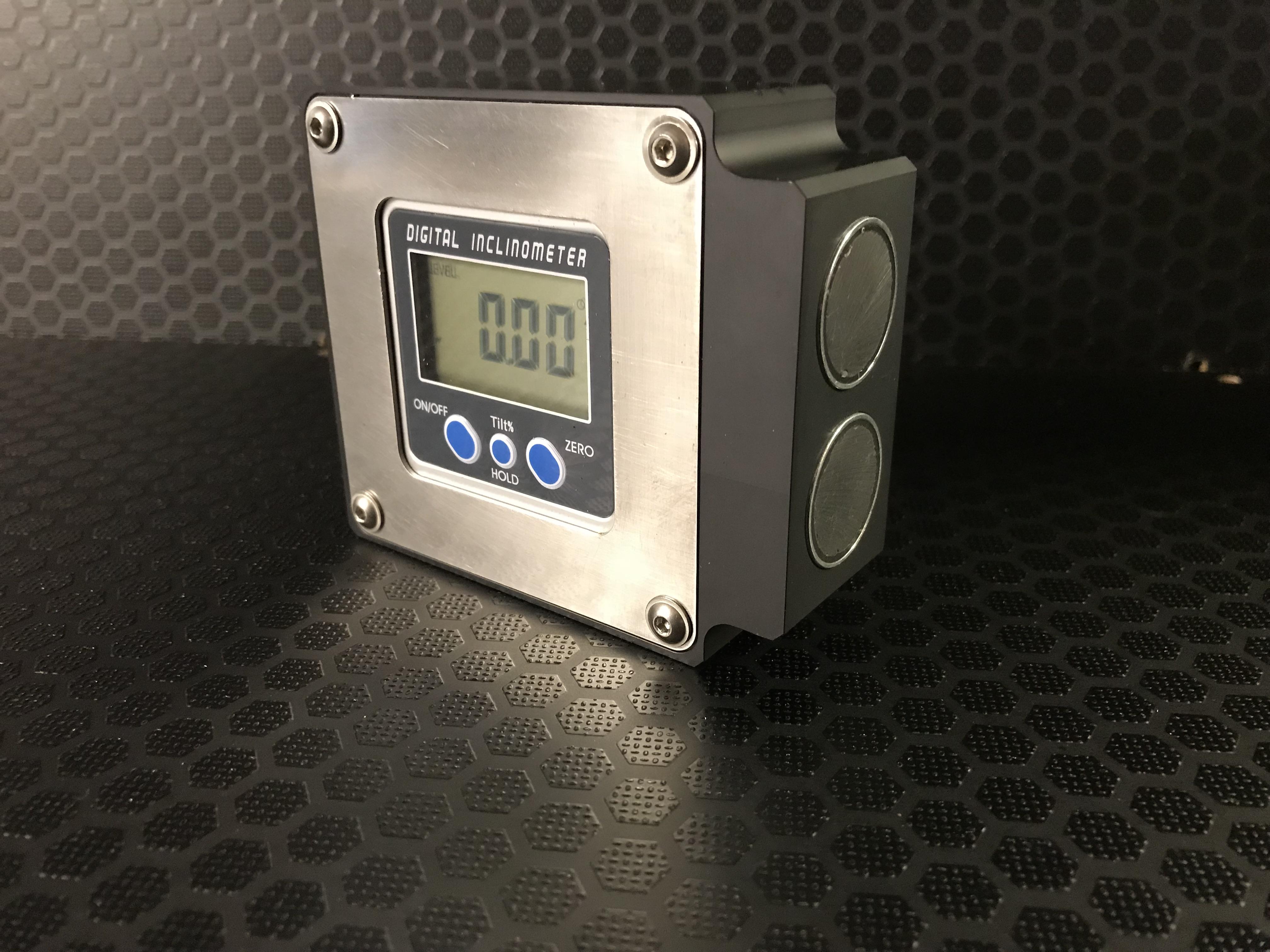 Magnetic digital camber gauge
