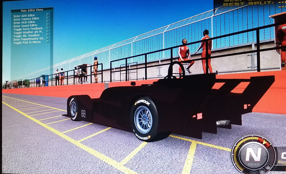 inputting a car into rfactor2