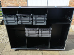 Large car spares box flight case