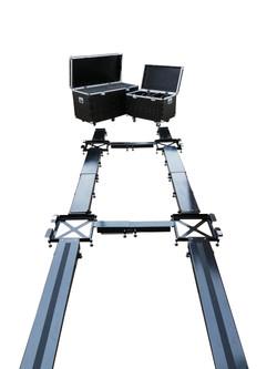 Corner weight set up platform