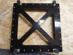 Billet aluminium pad levellers