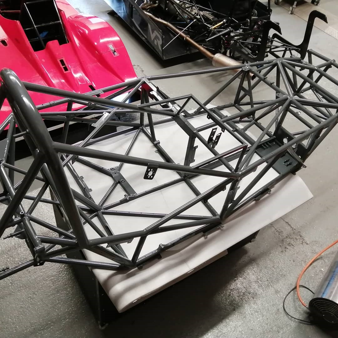 Spaceframe chassis design