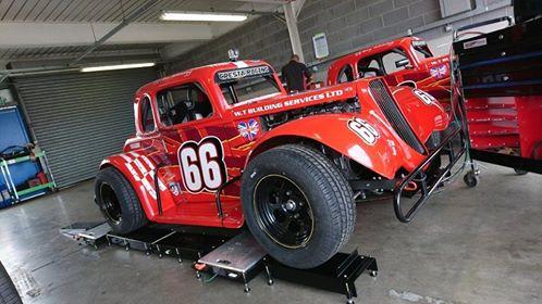 WTBS Legend Race car with VMEP Floor