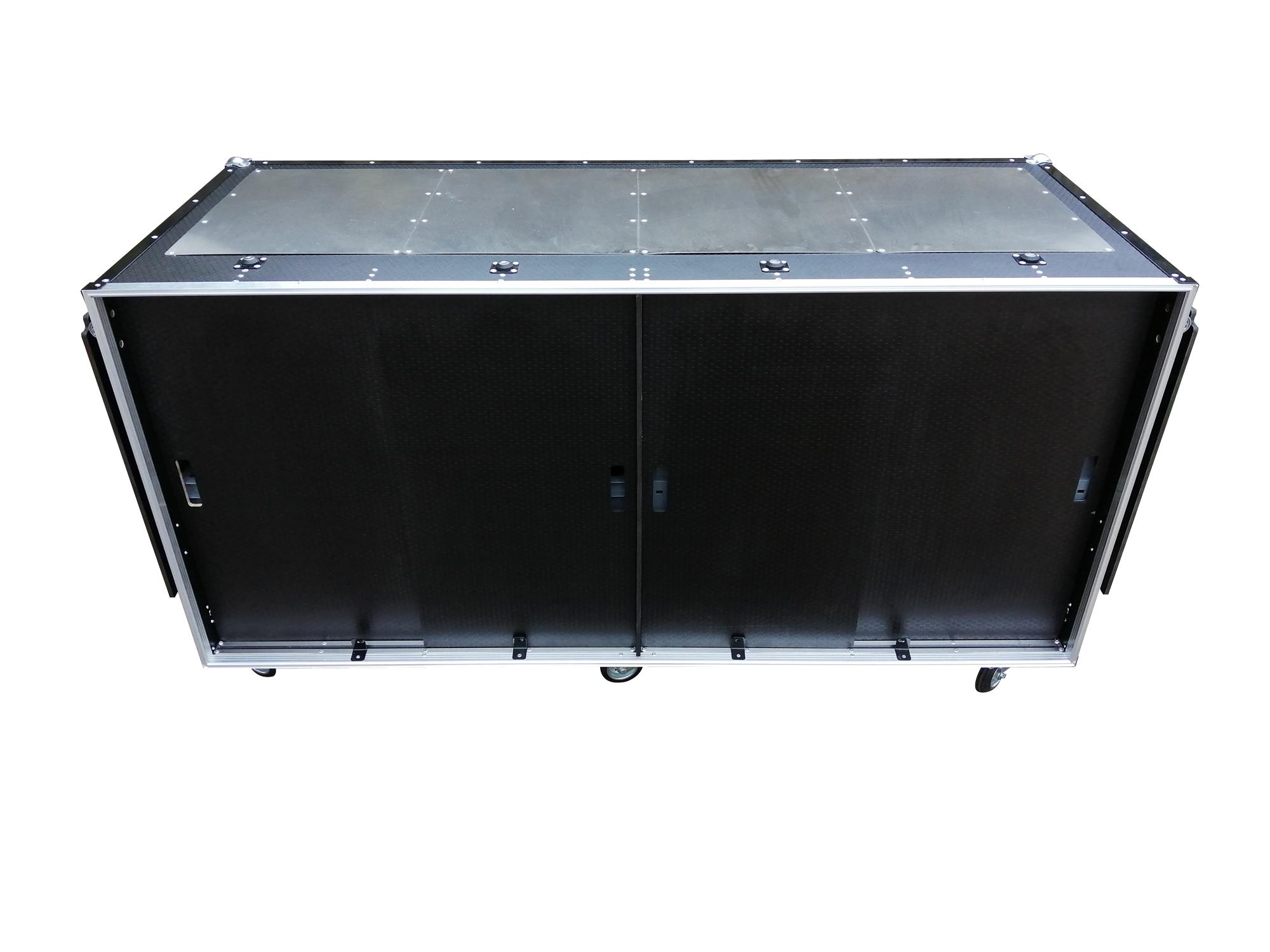 Race car trailer storage flight case