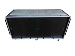 Race car trailer storage flight case