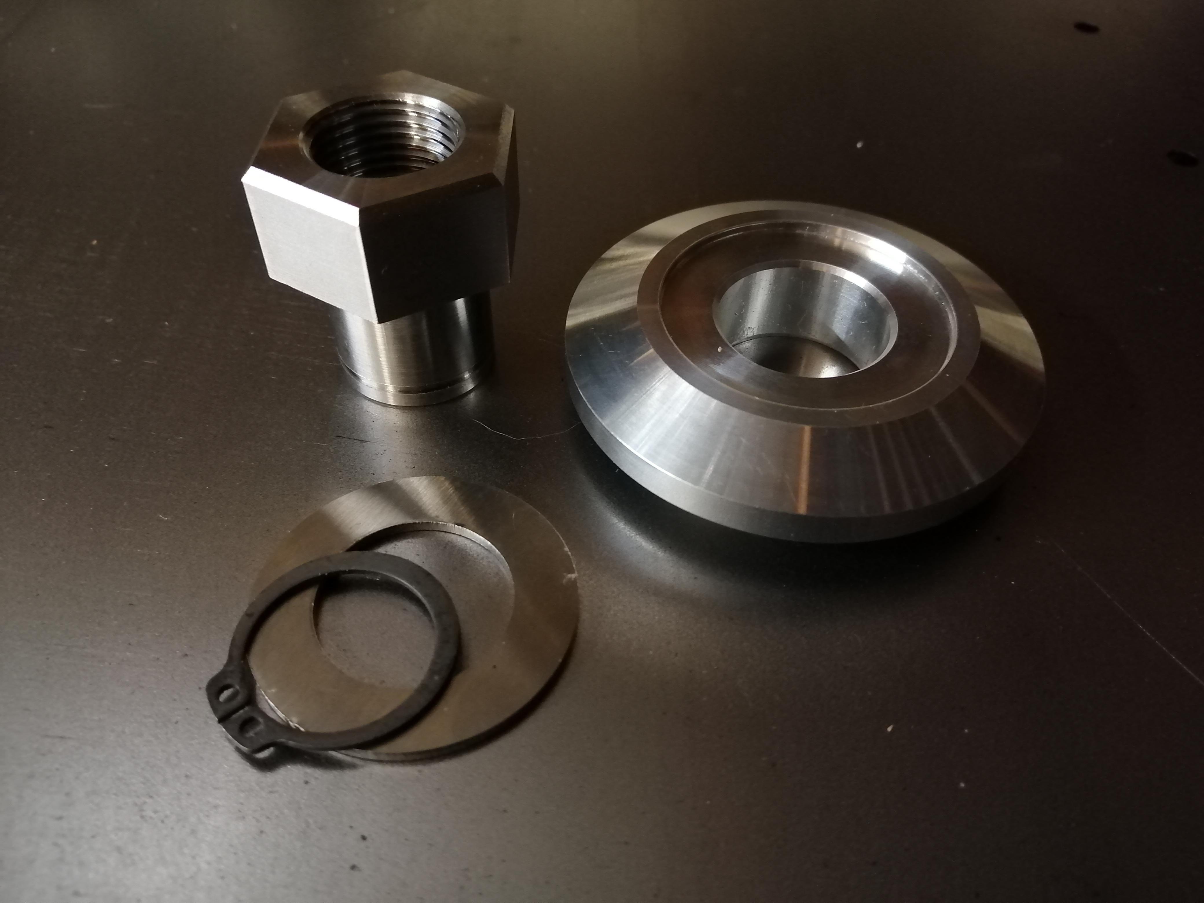 Race car wheel nut